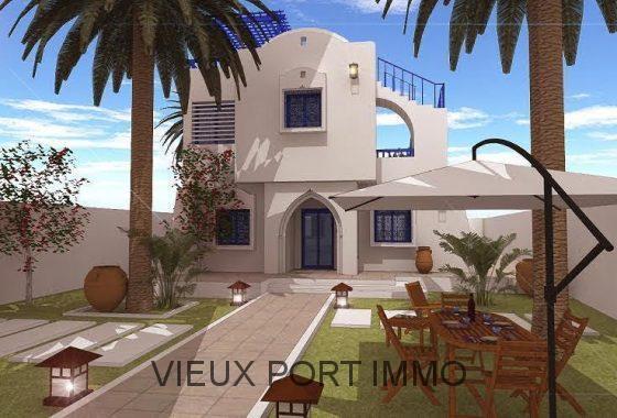 Agence immobili re du vieux port djerba tunisie for Acheter maison tunisie