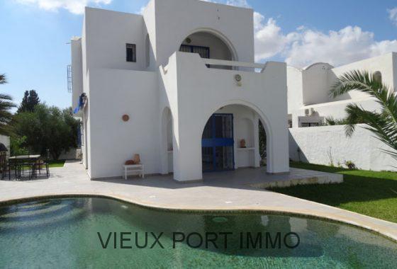 Agence immobili re du vieux port djerba tunisie for Achat maison zarzis